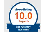 Avvo Rating | 10.0 | Superb | Top Attorney Business