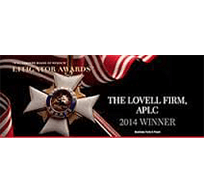 The Lovell Firm | APLC | 2014 Winner