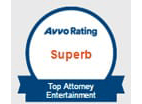 Avvo Rating | Superb | Top attorney Entertainment